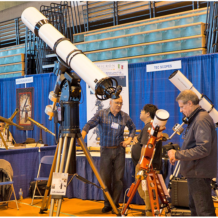 APO250VT F/8.8 on the GM3000 Mount at the 2017 NEAF Exhibition.